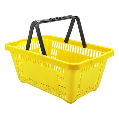 Cesta Plástica D-100 Amarelo 16 Litros Della Plast