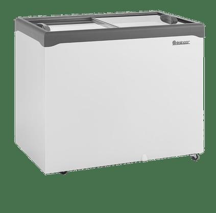 Freezer Horizontal Gelopar 310L Dupla Ação Tampa de Vidro Ghde-310