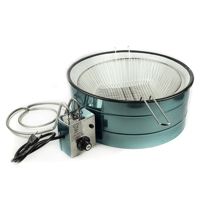 Fritadeira Elétrica Industrial Inox Tacho 7,5 Litros Óleo