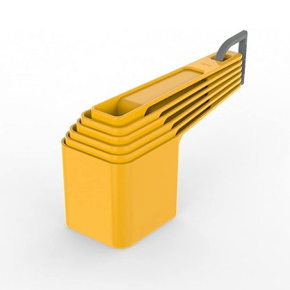 Kit Colher Medidora UG Amarelo Primacor