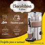 Chocolateira Inox 3 Litros com Pá Giratória 220V Marchesoni